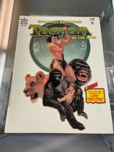 Marvel Super Special 29 Tarzan of the Apes VF-