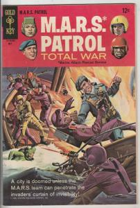 M.A.R.S. Patrol Total War #5 (Mar-67) VF/NM High-Grade M.A.R.S. (Sgt. Joe Str...