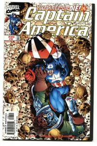 Captain America #8--1998 1st appearance of BRON CHAR