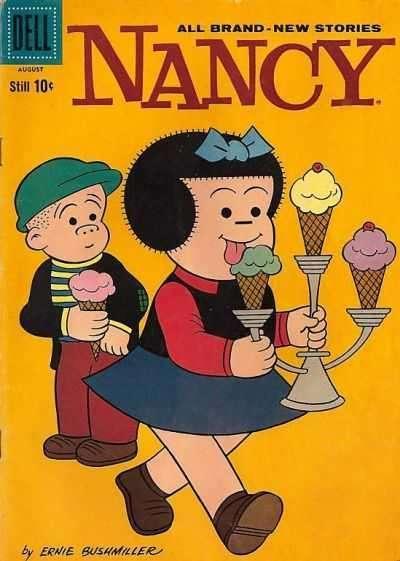 Nancy & Sluggo #169, VG+ (Stock photo)