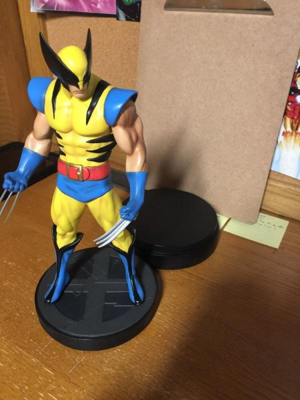 Wolverine Statue Bowen Classic 006/1600 Less Than 1% Very Low Number Mint