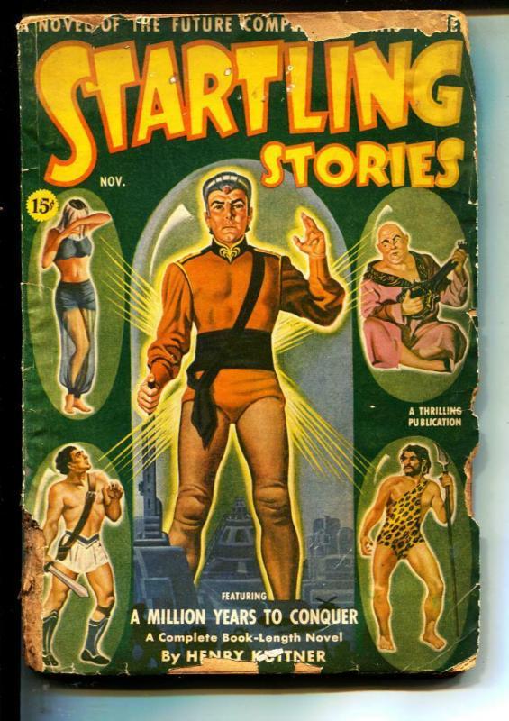 Startling Stories-Pulps-11/1940-Henry Kuttner-Edmond Hamilton