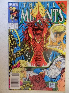 NEW MUTANTS # 85 MCFARLANE LIEFELD HOT MOVIE