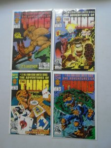 Adventures of The Thing set #1-4 8.0 VF (1992)