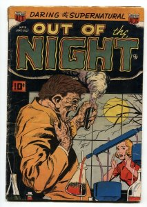 OUT OF THE NIGHT #3-DEFORMITY-MONSTER-Sick Pre-code horror!