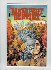 MANIFEST DESTINY #19, VF/NM, 1st print , Lewis Clark trek expedition, Monsters