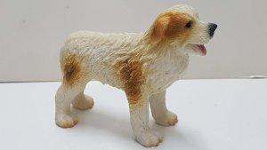 Figura de perro resina: Labrador Retriever de 7.5x10 cm