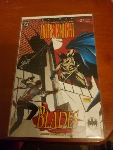 Legends of the Dark Knight #34 (1992) signed