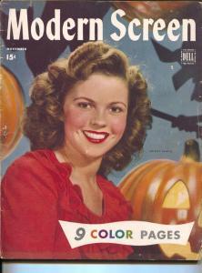 Modern Screen-Judy Garland-Dick Crane-Shirley Temple-Nov-1944