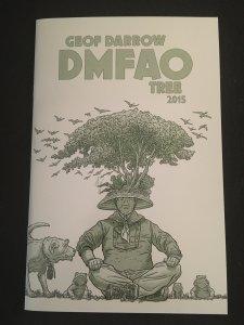 GEOF DARROW DMFAO TREE 2015 Sketchbook, Signed #348/800