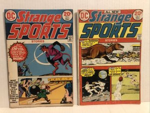 Strange Sports Stories #1 And 2 Lot Of 2