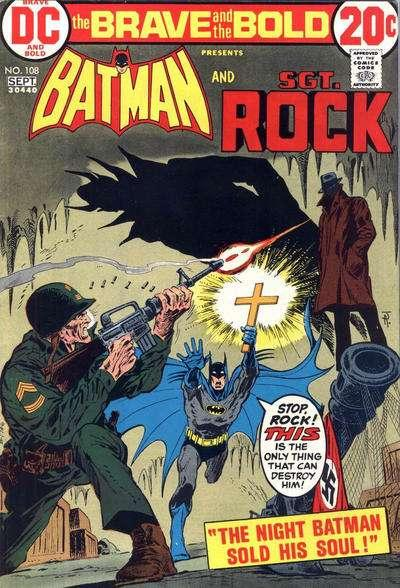 Brave and the Bold (1955 series) #108, VG+ (Stock photo)
