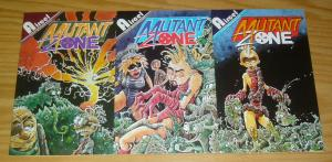 Mutant Zone #1-3 VF/NM complete series - aircel comics - dave cooper set lot 2