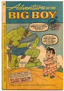 Adventures Of The Big Boy #76 1962-Michigan edition- Alien cover VG-