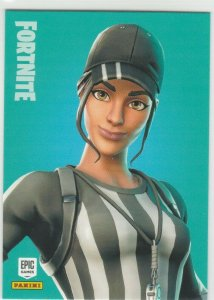 Fortnite Whistle Warrior 149 Uncommon Outfit Panini 2019 trading card series 1