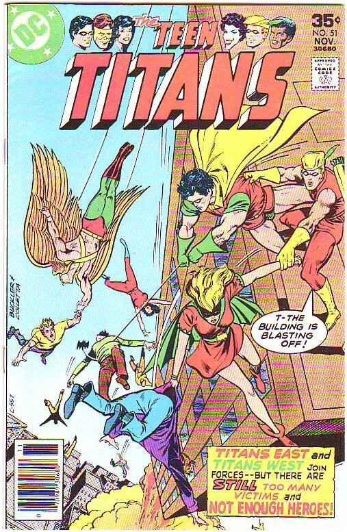 Teen Titans, The #51 (Nov-77) VF/NM- High-Grade Kid Flash, Robin, Wonder Girl...