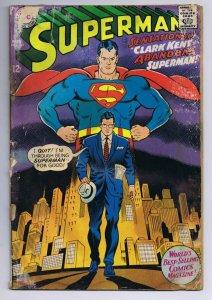 Superman #201 ORIGINAL Vintage 1967 DC Comics