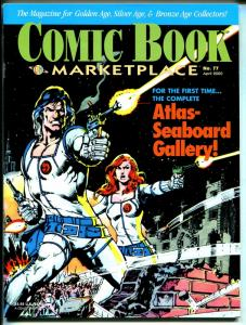 Comic Book Marketplace #77 2000-Gemstone-Atlas-Seaboard Gallery-Irv Novick-VF