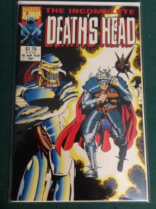 The Incomplete Death's Head #5