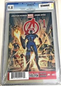AVENGERS#1 CGC 9.8 DYNAMIC FORCES LIMITED EDITION 2013 MARVEL COMICS