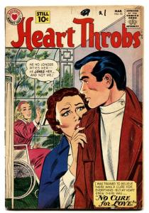 Heart Throbs #70 1961-DC-Wheelchair cover