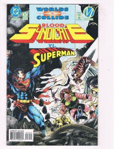 Blood Syndicate #16 VF/NM DC Milestone Worlds Collide Comic Book July DE44