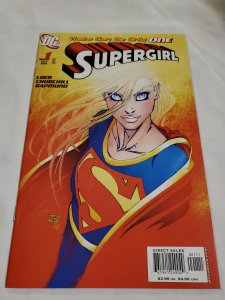 Supergirl 1 Near Mint Cover by Michael Turner