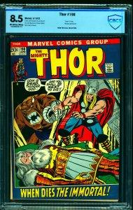 Thor #198 CBCS VF+ 8.5 Off White to White Marvel Comics