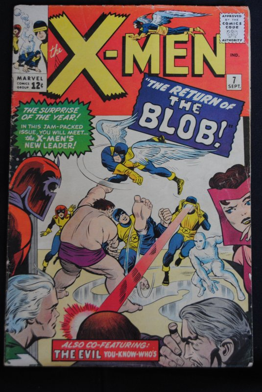 X-Men, #7, The Return of The Blob!. 3.0
