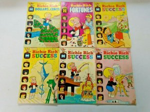 Harvey Richie Rich Giant Size Comic Lot 13 Different 4.0 VG