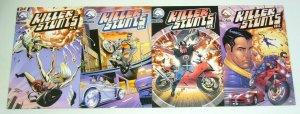 Killer Stunts Inc. #1-4 VF/NM complete series - a set - stunt doubles 2 3 lot