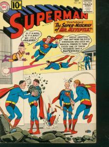 SUPERMAN #148 1961 DC MR MXYZPTLK WEIRD PRISON COVER FN
