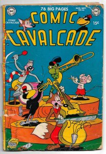 COMIC CAVALCADE #46  * June '51 * DC Funny Animal Stars Fox & Crow, Doodles Duck