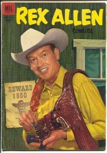 Rex Allen #8 1953-Dell-B-Western movie photo cover-VG+