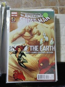 Amazing Spider-Man # 684  2012  marvel  ends of the earth pt 3+ sandman