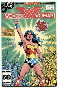 Wonder Woman #329 1986 Last issue-DC comic book VF