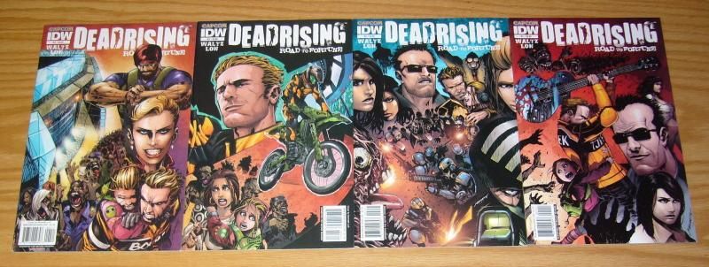 Dead Rising: Road to Fortune #1-4 VF/NM complete series based on capcom game