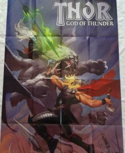 THOR GOD OF THUNDER Promo Poster, 24 x 36, 2013, MARVEL, Unused 296