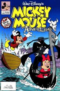 Mickey Mouse Adventures #1 VG; Disney | low grade comic - save on shipping - det