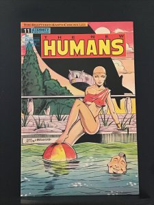 The New Humans #11 (1989)