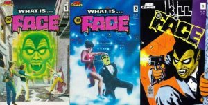 WHAT IS THE FACE (1986 ACE) 1-3   STEVE DITKO