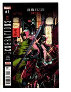 5 Marvel Comics Generations Wolverine 1 Thor 1 Hulk 1 Phoenix 1 Ms Marvel 1 TW65