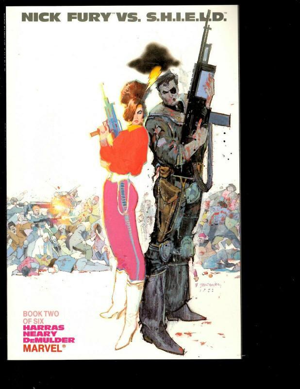 11 Nick Fury Marvel Comics Vs. Shield # 1 2 3 4 5 6 Agent of # 1 2 3 5 6 JF26