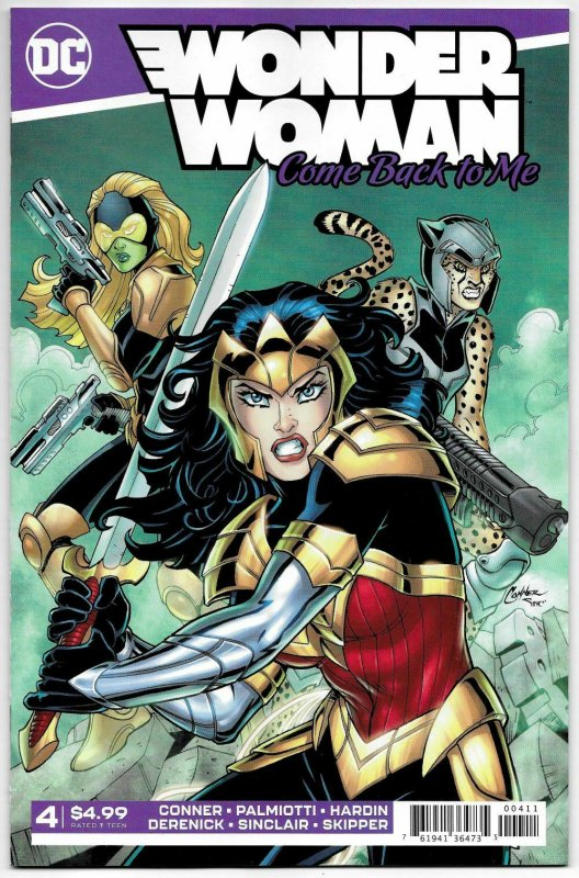 Wonder Woman Come Back To Me #4 (DC, 2019) NM