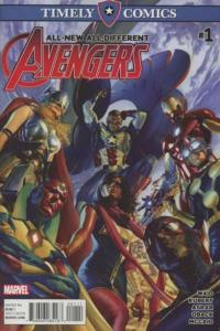 Timely Comics: All-New All-Different Avengers #1, NM (Stock photo)