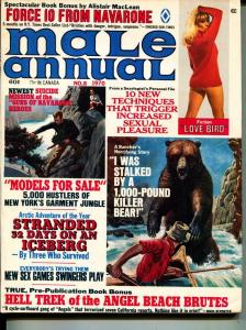 Male Annual-1970-Pussycat-Motorcycle-Bears-Adventure