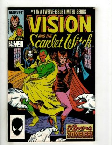 Lot Of 8 Vision & Scarlet Witch Marvel Comic Books # 1 2 3 4 5 6 (2) 8 OF45