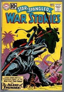 STAR SPANGLED WAR STORIES #98-1961-DC WAR COMIC-SILVER AGE-VF minus VF-