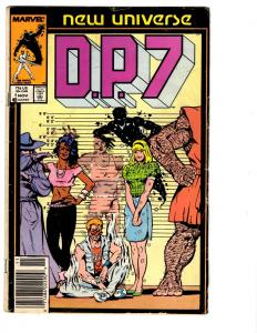 10 D.P. 7 Marvel Comic Books #1 2 3 4 5 6 7 8 9 10 First Issue New Universe BH25