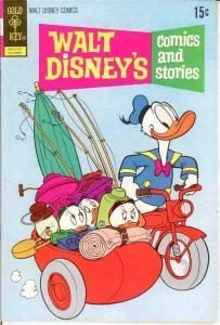 WALT DISNEYS COMICS & STORIES 385 VF-NM Oct. 1972 COMICS BOOK